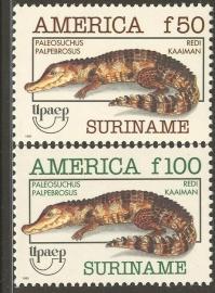 Suriname Republiek  780/781 U.P.A.E. 1993 Postfris