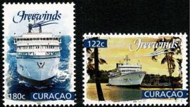 Curaçao Status Aparte 381/382 Freewinds 2018 Postfris