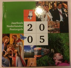 Jaarboek 2005 Inclusief alle postzegels & vellen Postfris