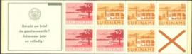 SR Postzegelboekje 4ap Postfris