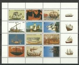 Nederlandse Antillen 1446/1457 Zeilschepen Postfris