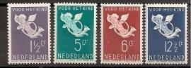 Nvph 289/292 Kinderzegels 1936 Ongebruikt