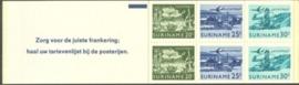 SR Postzegelboekje 2b Postfris