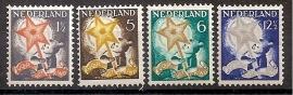 Nvph 261/264 Kinderzegels 1933 Ongebruikt