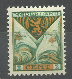 Nvph 166 2 ct Kinderzegel 1925 Postfris