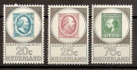 Nvph  886/888 Amphilex Postfris