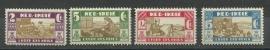 Nederlands Indië 176/179 Leger des Heils Postfris