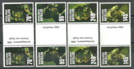 Nederlandse Antillen 1397a/1400a Amphilex 2002 Postfris