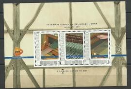 2011 (13) Persoonlijk Postzegelvel Int. Briefmarkenmesse Sindelfingen Postfris