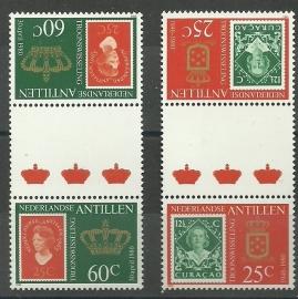 Nederlandse Antillen  654b/655b Postfris (1)