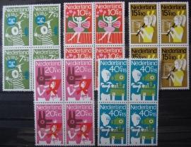 Nvph 830/834 Kinderzegels 1964 in Blokken Postfris