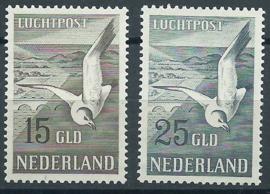 Luchtpost 12/13 Zeemeeuwen Postfris (1) + Certificaat