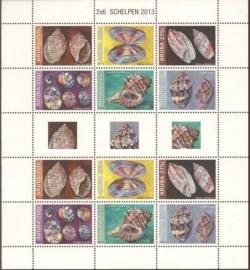 Aruba V710/715 Schelpen 2013 Postfris (Compleet Vel)