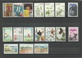 Complete Jaargang Aruba 1991 Postfris