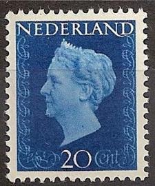 Nvph 481 20 ct Wilhelmina Hartz Postfris