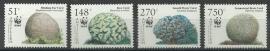 Nederlandse Antillen 1607/1610 WWF 2005 Postfris (los)