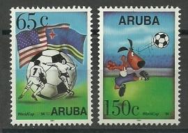 Aruba 142/143 Postfris
