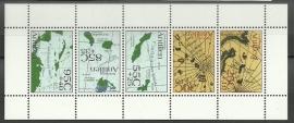 Nederlandse Antillen 1426 Blok Sociale en Culture zorg Postfris
