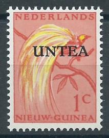 Nieuw Guinea UNTEA 39 1ct 3e druk met kleine letters Postfris (1)