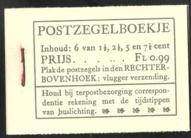PZ 38-N 4 × 6 (Nvph 172/379/380/381) Roomkleurige Kaft (12)