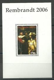 Nederlandse Antillen 1695 Blok Rembrandt van Rijn Postfris