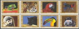 Aruba 726/733 Oerwouddieren 2013 Postfris