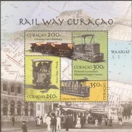 Curaçao Status Aparte  77 Spoorwegen Curaçao 2012 Postfris