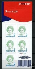 Nvph Va2042 5 × 1,00 euro TPG Logo Postfris (W1W1W1W1)