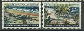 Nieuw Guinea 76/77 Pago Pago Postfris