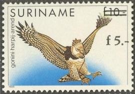 Suriname Republiek  791 Hulpuitgifte Vogel 1993 Postfris