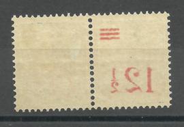 Nederlands Indië 171 Hulpuitgifte Postfris/Ongebruikt (spiegeldruk in paar waarvan 1 onbedrukt))
