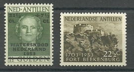 Nederlandse Antillen Jaargang 1953 Postfris