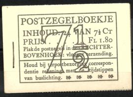 PZ 51-N 4 × 6 (Nvph 381) Roomkleurige Kaft (11)