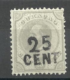 Curacao  18 Hulpzegel Ongebruikt (2)