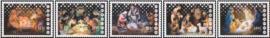 Curaçao Status Aparte 370/374  Kerstzegels 2017 Postfris