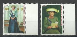 Caribisch Nederland  16/17 Koninklijk Bezoek Postfris