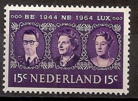 Nvph  829 20 Jaar Benelux Postfris