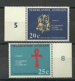 Nederlandse Antillen 334/335 Postfris