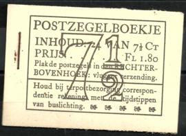 PZ 51-N 4 × 6 (Nvph 381) Roomkleurige Kaft (12)