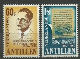 Nederlandse Antillen 676/677 Postfris
