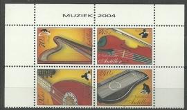 Nederlandse Antillen 1513/1516 Muziek Postfris