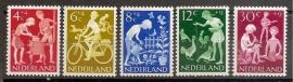 Nvph  779/783 Kinderzegels 1962 Postfris