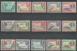 Luchtpost 26/40 Koningin Wilhelmina Diverse Voorstellingen Postfris (1)
