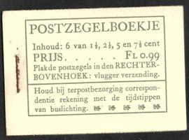 PZ 38-N 4 × 6 (Nvph 172/379/380/381) Roomkleurige Kaft (20)