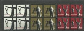 Nvph 836/838 Verzetsmonumenten in blokken Postfris