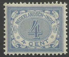 Nederlands Indië  45 4ct Cijferzegel 1902/1909 Postfris (2)