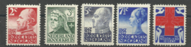 Nvph 203/207 Rode Kruis 1927 Postfris (11)