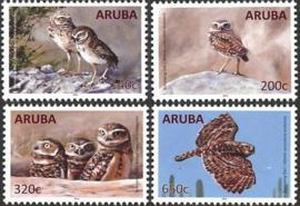Aruba 864/867 Gravende Uilen 2016 Postfris