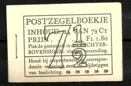 PZ 51-N 4 × 6 (Nvph 381) Roomkleurige Kaft ( 2)
