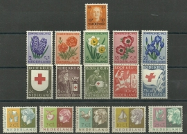 Complete jaargang 1953 Postfris